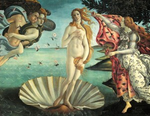 Art Botticelli Birth Of Venus painting old master