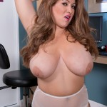 34G Janessa Loren MILF mature big boobs tits breasts cleavage chubby naked