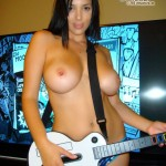 Jelena Jensen naked topless pubes pubic hair big tits boobs breasts pussy fanny twat guitar hero panties slim stacked young F-cup bra young pretty beautiful porn