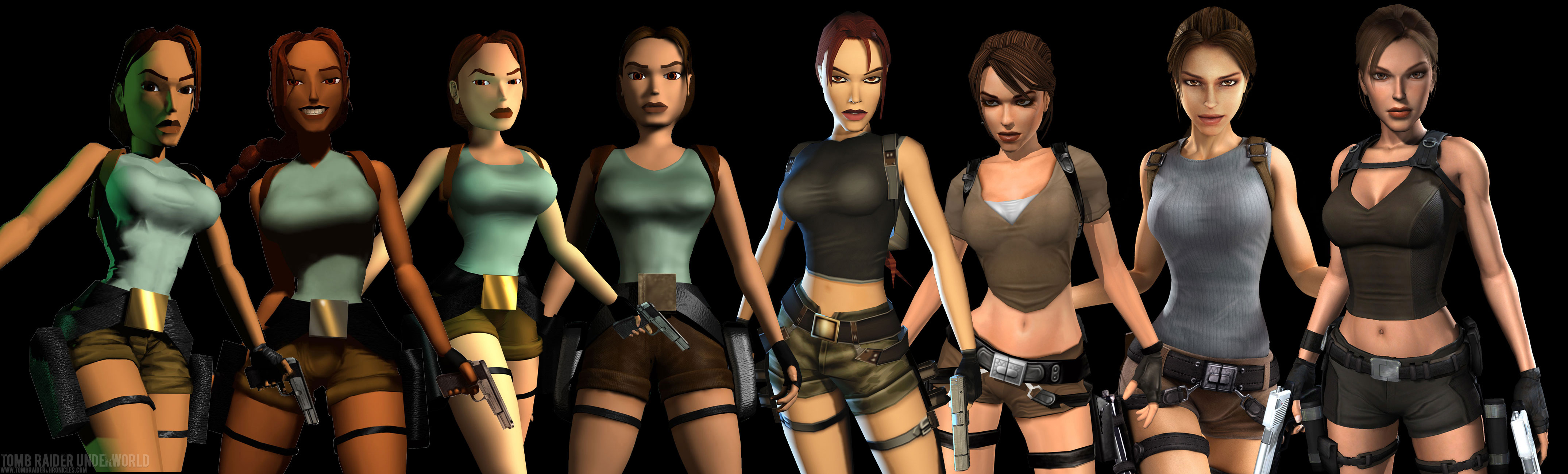 Lara Over The Years