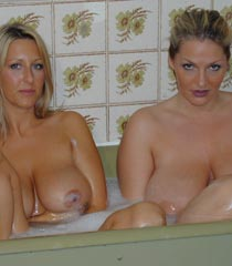 Coz two in the bathtub is more fun than one!