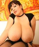 Alicia Loren 36JJ at DivineBreasts.com
