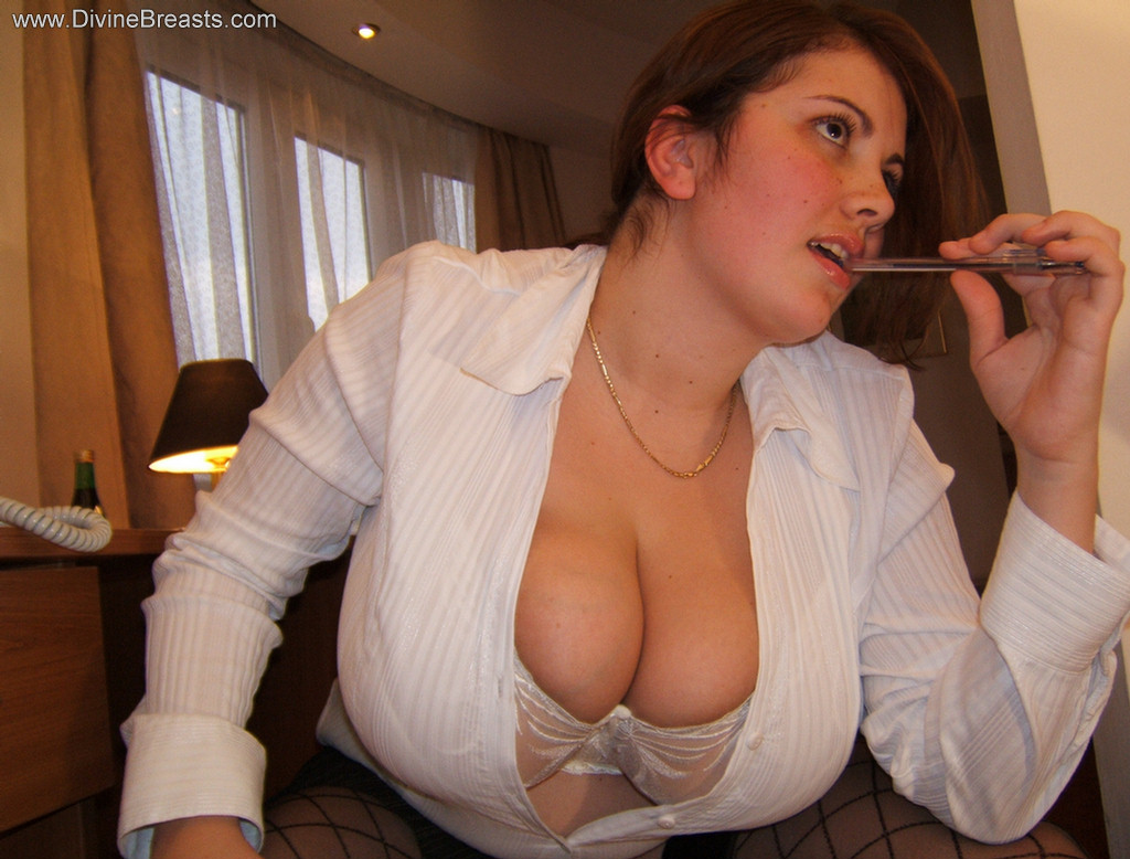 Jarod recommend best of secretary amateur fucking big the titted