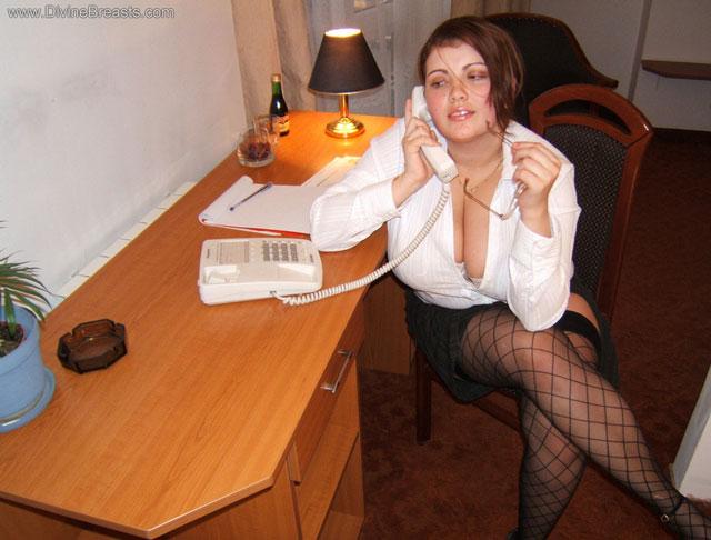 Sexy secretary faith