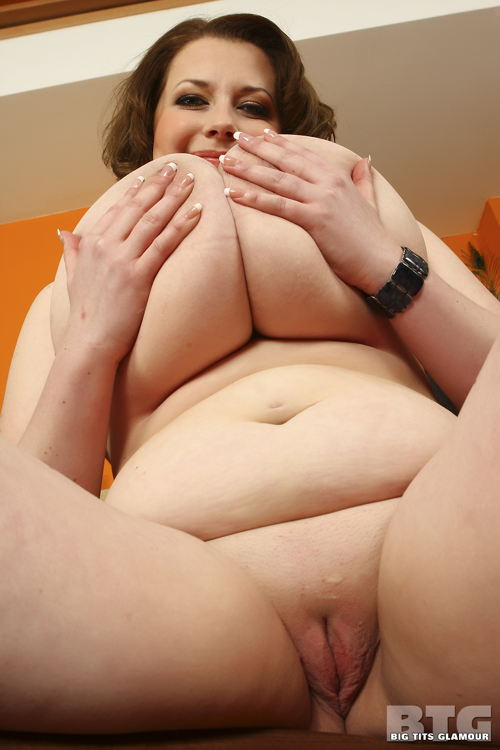 Huge nude breast