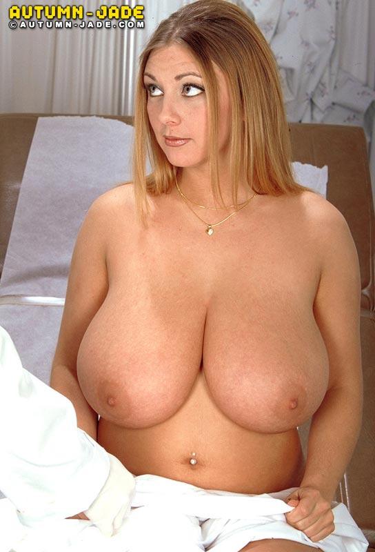Autumn jade huge tits topless in wheat field 2