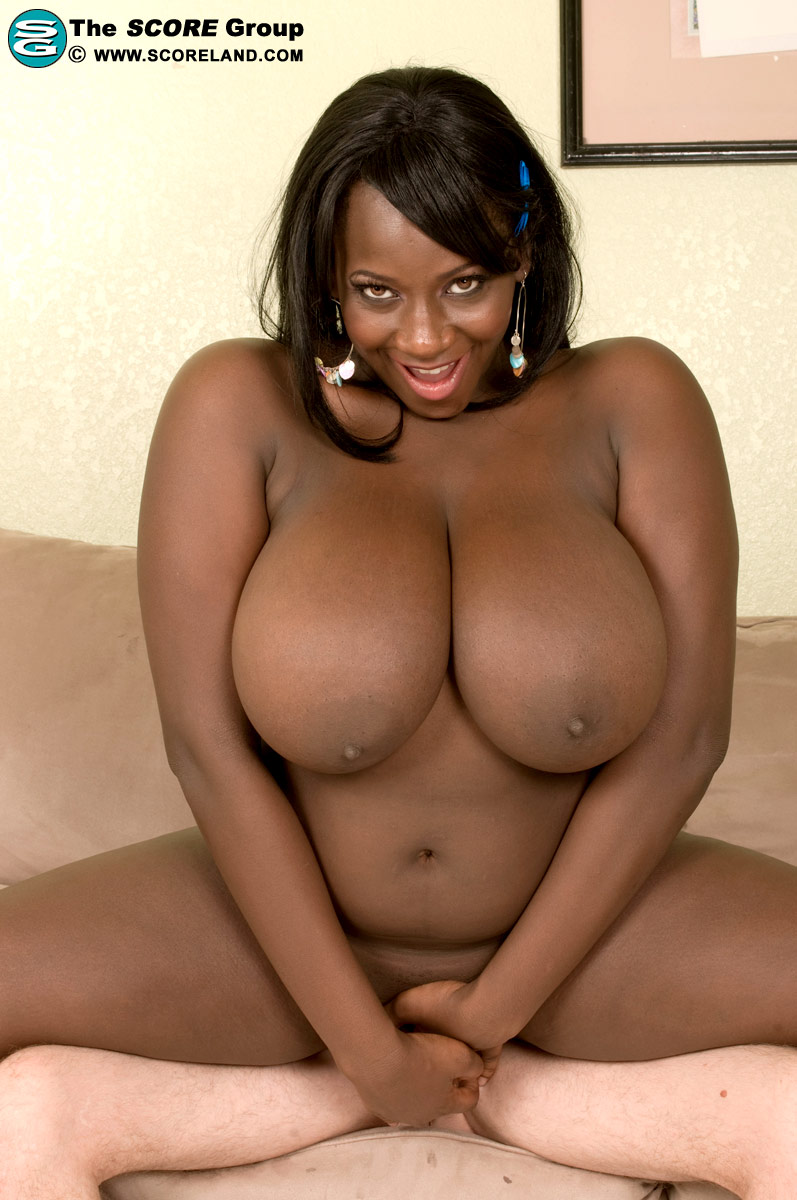 Big black boobs and pussy