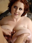 Sapphire fucking a real big breast lover in L-cup huge boobs 38L busty BBW sex photos from Plumper Pass - PlumperPass.com