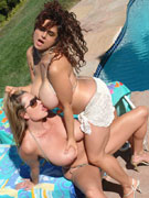 Chloe Vevrier 36GG & Kelly Madison 34FF
