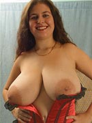Denise Davies 34JJ at KinkyVoluptuous.com