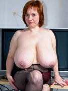 Ginger from DivineBreasts.com