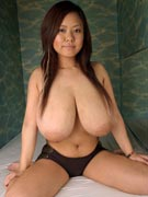 Fuko topless at Busty Asians