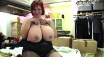 Ginger 38H Videos at DivineBreasts.com