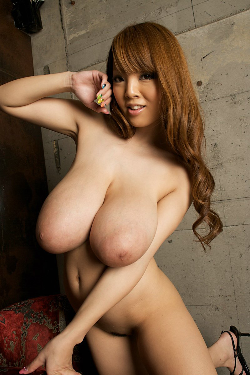 Naked large breast women