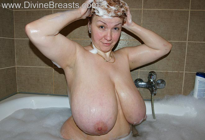College shower naked