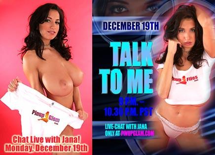 Live chat with Jana Defi / Princessa / Maria Swan