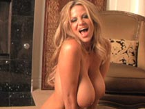 Kelly Madison masturbating on video at KellyMadison.com
