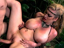 Kali West in Mamazon video from Scoreland.com