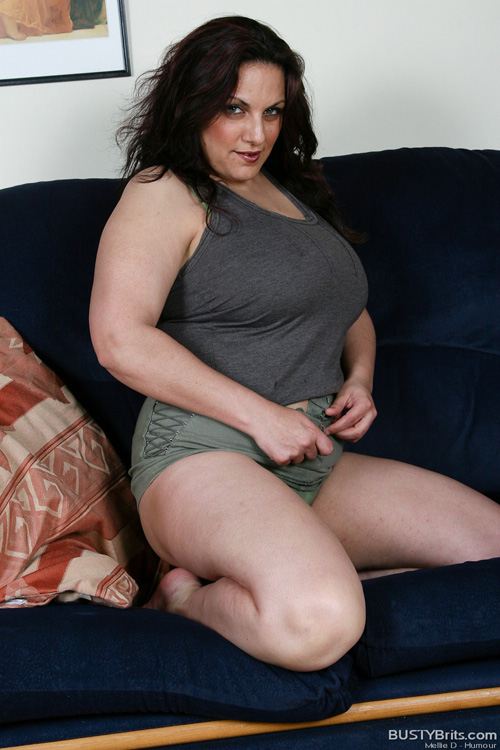 Bbw naked d mellie