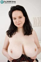 Milky White Tits with 36F Nadia from Scoreland.com
