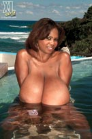 Miosotis bikini boobs biggest tits big black breasts at XLgirls.com