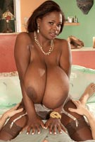 Miosotis Claribel massive breasts gigantic tits big black boobs hardcore photos from Scoreland.com
