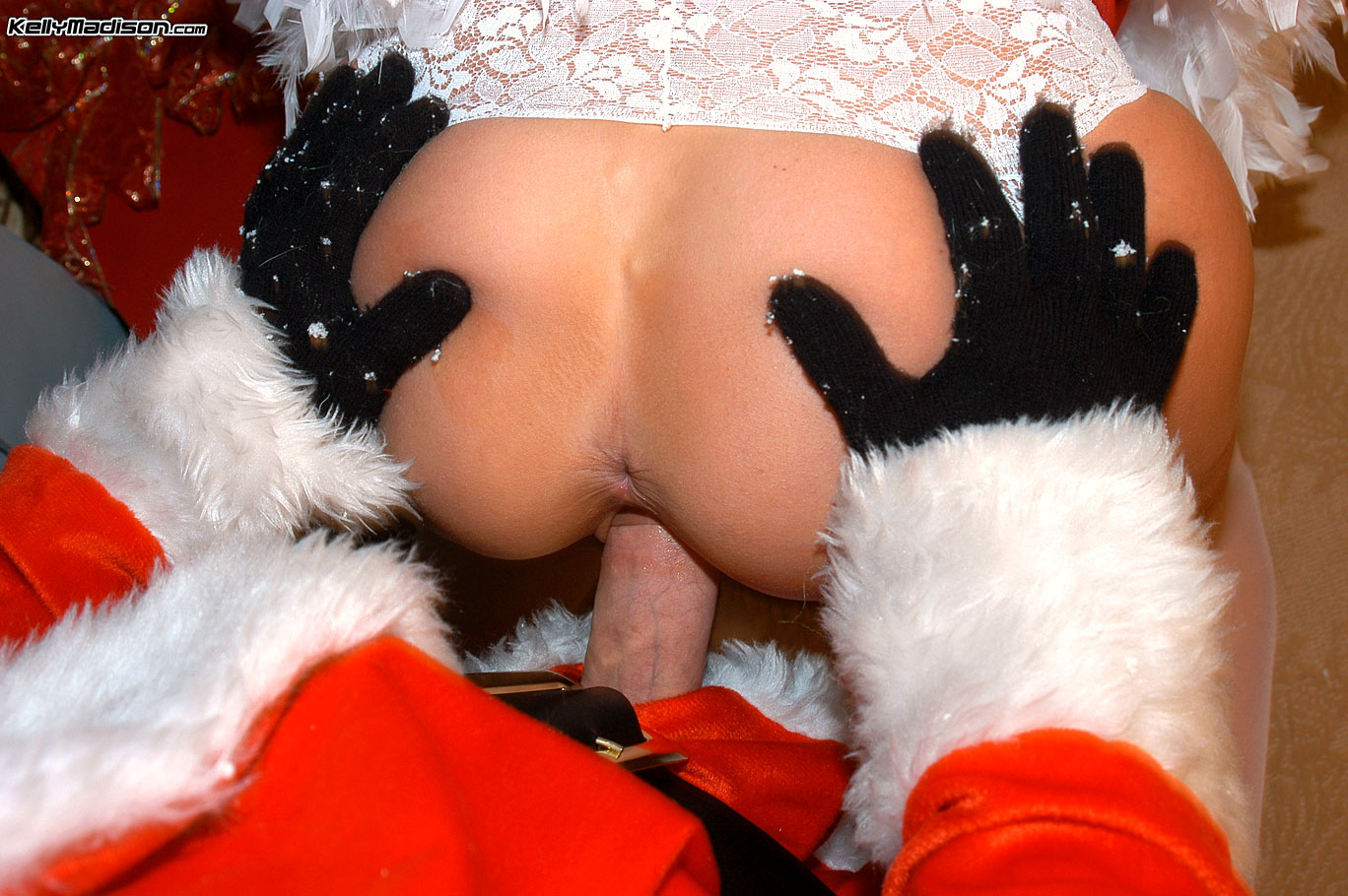 santa claus fuck hot girl