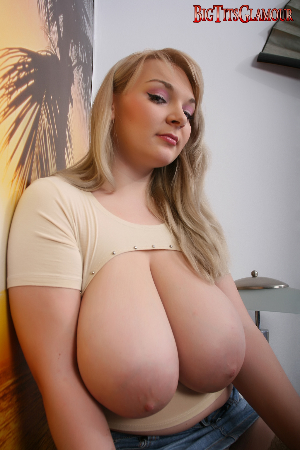Something is. Big boob huge tit congratulate