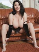 Natalie Fiore pussy in spread legs photos from BigTitsGlamour.com