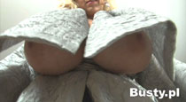 Nelli Roono - Gigantic tits on big boobs blond in busty HD videos from Busty.pl