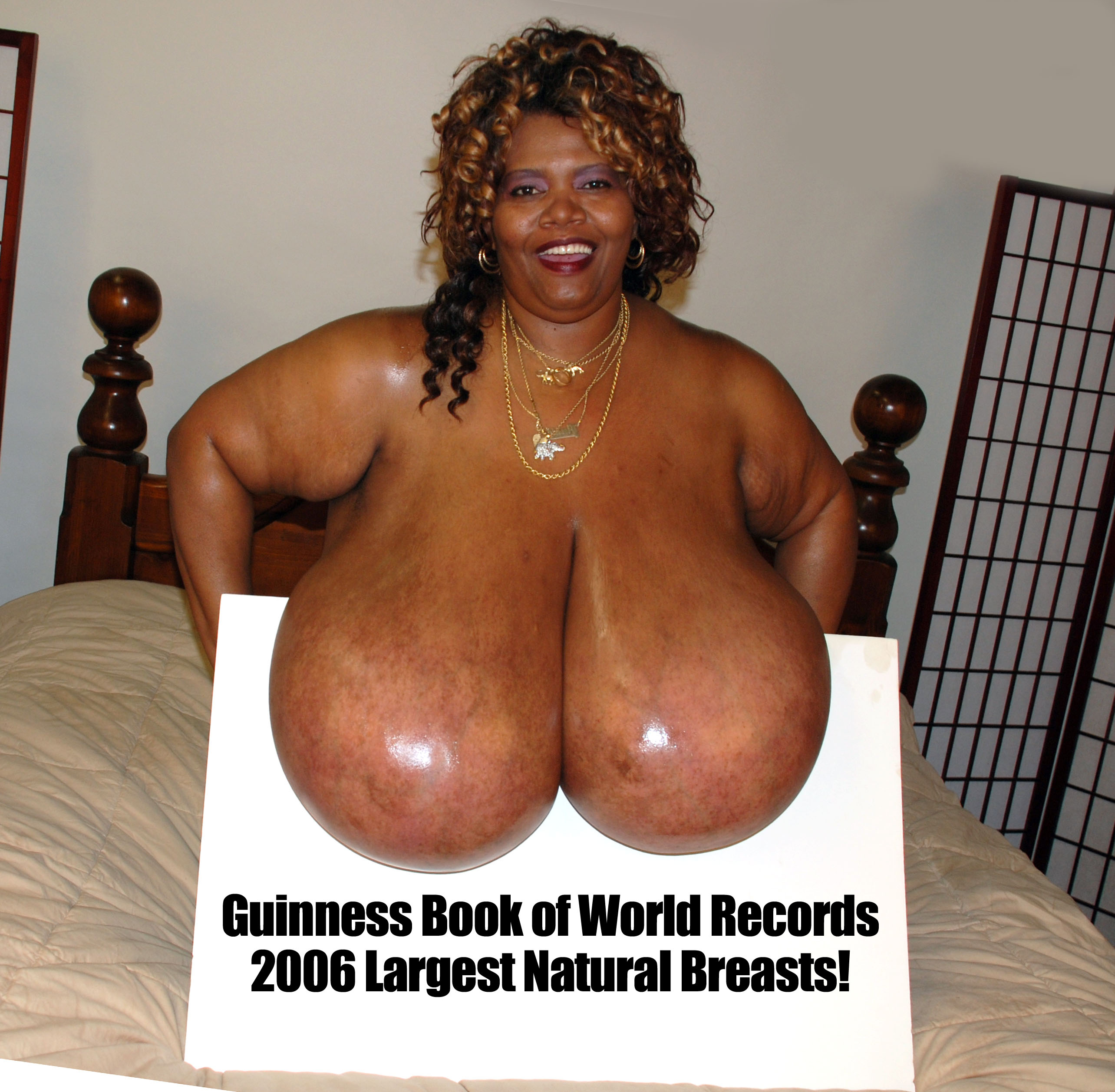biggest tits record