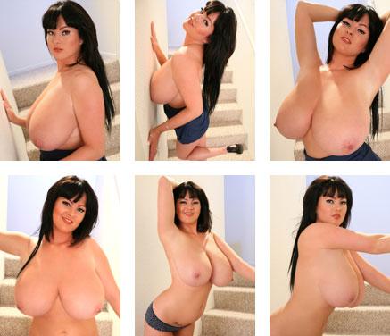 Rachel Aldana Blue Stairway Big Tits Gallery from RachelAldana.com