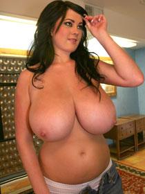 Rachel Aldana 32JJ big tits at PinUpGlam.com