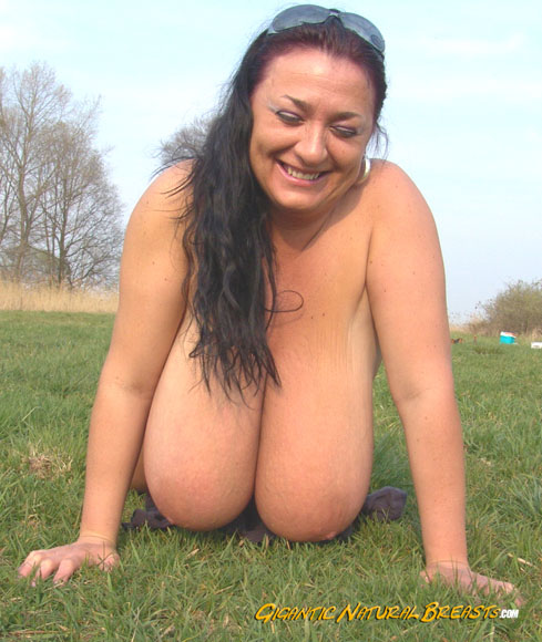 Gigantic natural titties