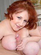 Sapphire in L-cup busty huge boobs fucking fun breast sex pics at BBW Dreams