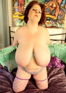 Sapphire softcore solo photos from BBW Dreams