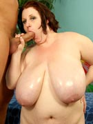 Sapphire 38L hardcore L-cup gigantic boobs titfuck photos from BBW Dreams