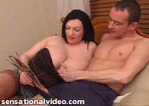 Simone 36J big boobs blowjob videos from Plumper Pass