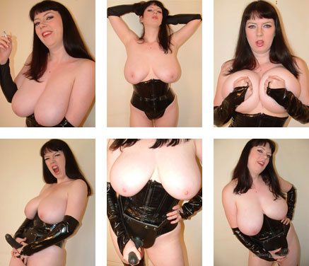 Strap-on masturbation videos with busty big tits Emily from Big Boob Dreams - BigBoobDreams.com