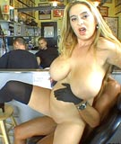Big Tits & Round Asses in the Tattoo Shop at BigTitsRoundAsses.com