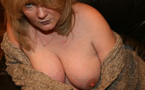Buxom British 36F busty blonde Vix and her beautiful F-cup boobs like a big wooly at VixPix.org & Tits-Out.com