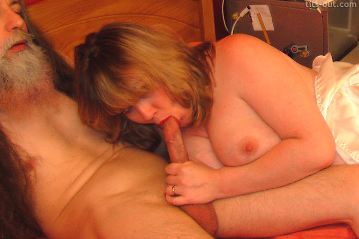 ... Vix lends a helping hand in horny handjob photos from Tits-Out.com
