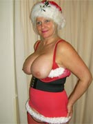 Christmas tits 2007 at MyBoobSite